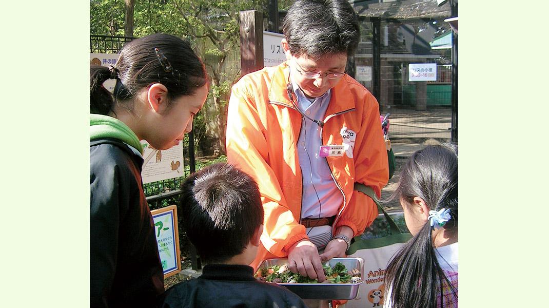 井の頭自然文化園の動物解説員がご案内します
