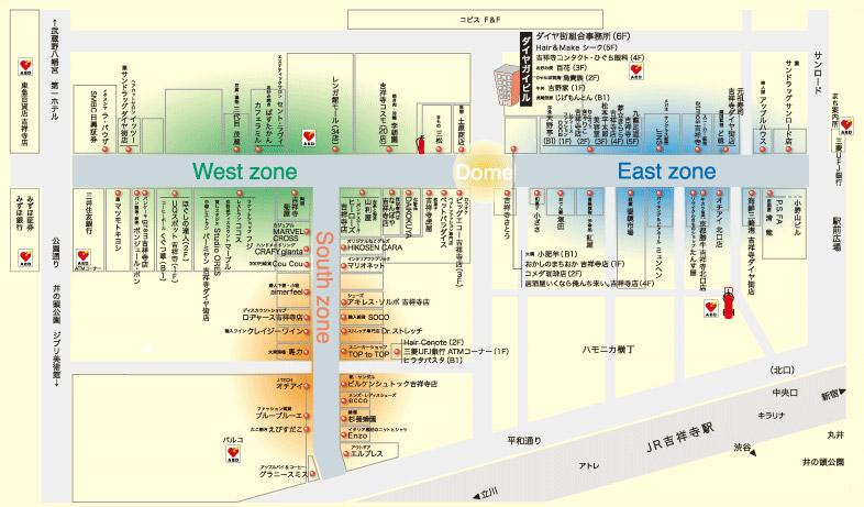 ダイヤ街マップ