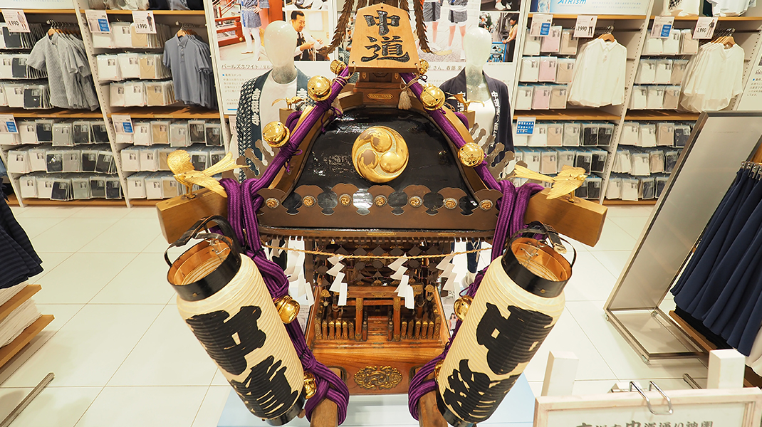 中道神輿ユニクロ
