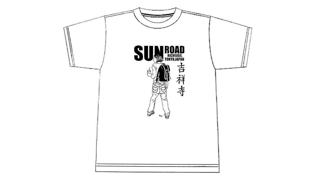 江口寿史オリジナルTシャツ